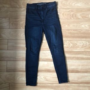 American Eagle Outfitters super high rise jeans